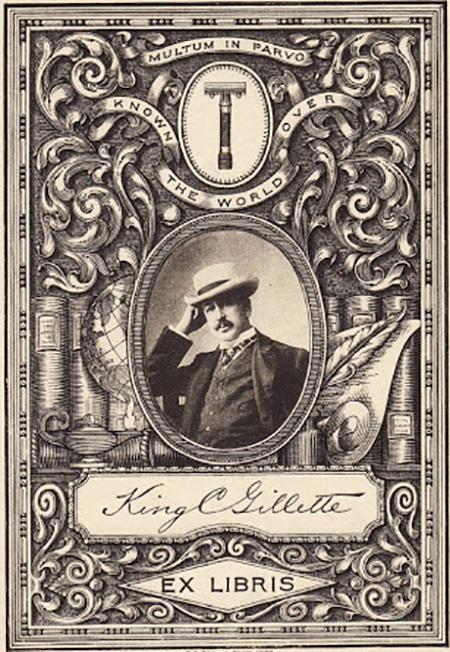 king-gillette-exlibris-artmanik