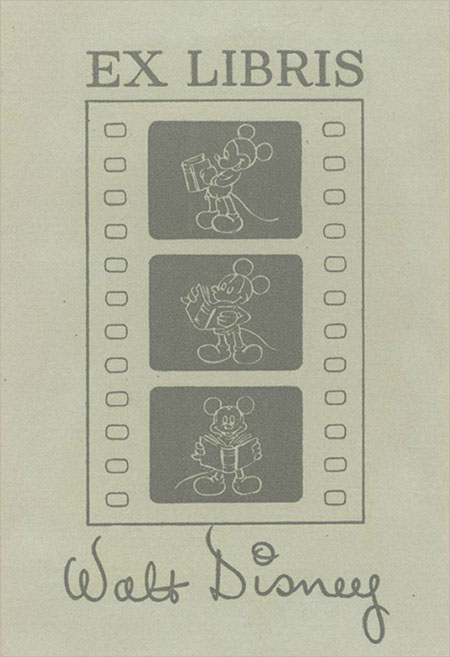 walt-disney-exlibris-artmanik