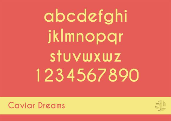 flat-tasarim-ucretsiz-font-caviar-dreams-artmanik