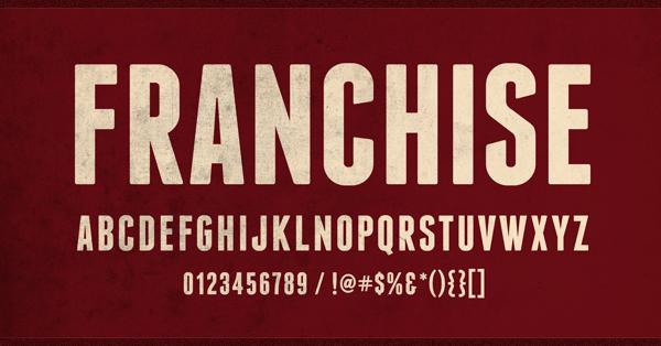 flat-tasarim-ucretsiz-font-franchise-artmanik