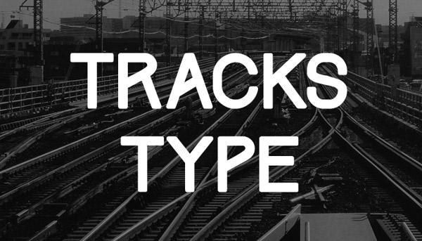 flat-tasarim-ucretsiz-font-tracks-type-artmanik