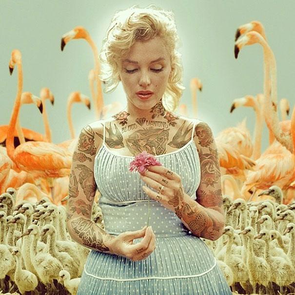 unlulere-photoshopla-eklenmiş-dövmeler-artmanik-1