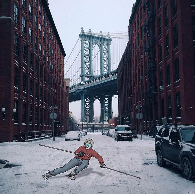 new-york-fotograflarina-cizilen-esprili-illustrasyonlar-artmanik-1