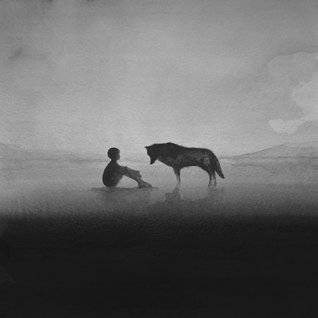 siyah-beyaz-sulu-boya-illustrasyonlari-artmanik-6