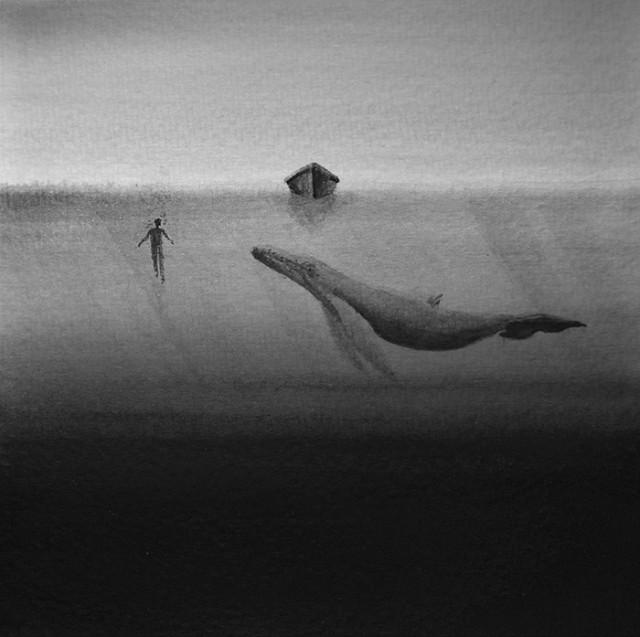 siyah-beyaz-sulu-boya-illustrasyonlari-artmanik-7