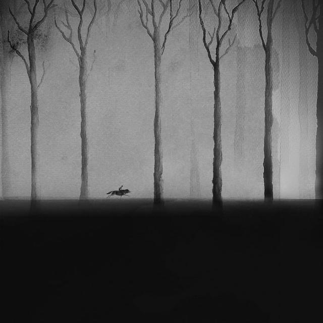 siyah-beyaz-sulu-boya-illustrasyonlari-artmanik-8